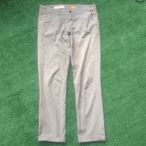 Anthro pilcro letterpress hyphen Sz 27 pants chino